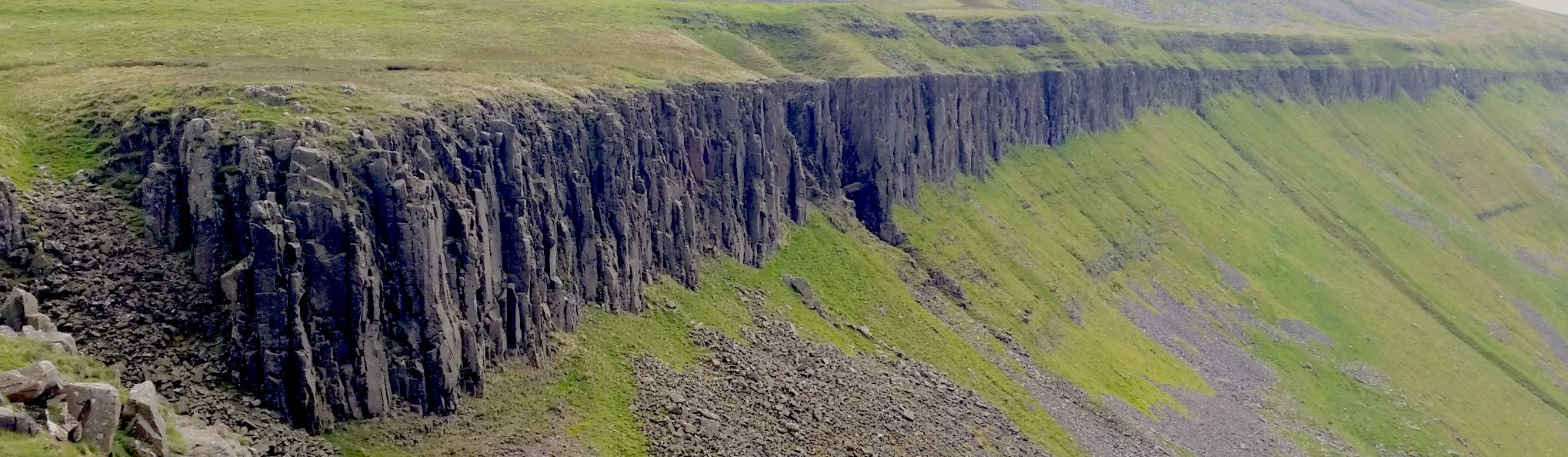 North Pennines - Cross Fell, High Cup Nick and High Force feature image